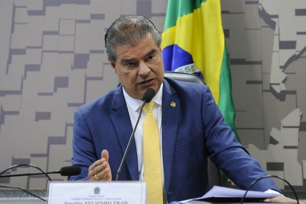 Nelsinho Trad explicou ao Bom Dia Campo Grande projeto que visa a trocar dívida com a União por casas populares. (Foto: Jane de Araújo/Agência Senado)