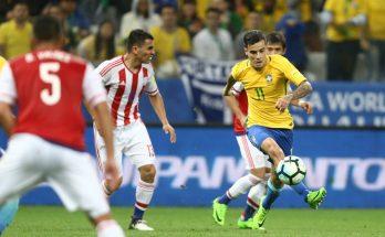 Em 2017, vitória de 3 a 0 sobre o Paraguai deu vaga para o Brasil na Copa da Rússia. (Foto: Lucas Figueiredo/CBF)