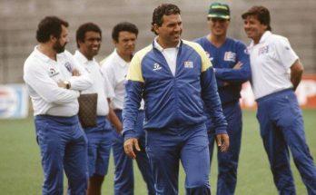 Lazaroni comandou o Brasil nos anos de 1989 e 1990; conquista da Copa América foi ocultada pela queda na Itália. (Foto: Divulgação)