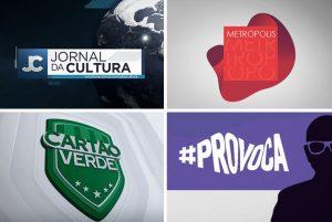 Jornal da Cultura, Metrópolis, Cartão Verde e #Provocações têm ajustes nos horários. (Imagem: TV Cultura/Divulgação)