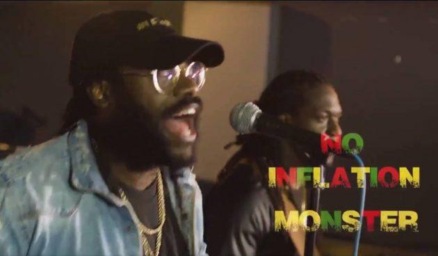Tarrus Riley, em iniciativa que divulgou à população as metas do Banco Central da Jamaica por meio do reggae. (Foto: Reprodução)