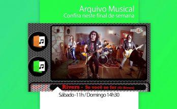 Banda Rivers deixou sua marca no cenário do rock de MS e será retratada no Arquivo Musical. (Imagem: Divulgação)