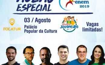 Aulão gratuito acontecerá neste sábado no Centro de Convenções Rubens Gil de Camillo. (Imagem: Semju/Reprodução)