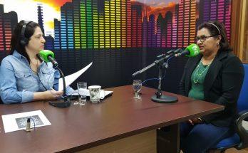 Tereza Oliveira (à direita) afirma que incubadoras visam a incentivar e dar suporte a ideias de empreendedores. (Foto: Pedro Amaral/Fertel)