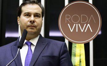 Rodrigo Maia falará sobre as reformas da Previdência e Tributária durante o Roda Viva. (Imagem: TV Cultura/Divulgação)