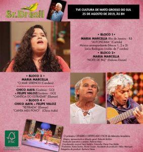 Confira as atrações do Sr. Brasil deste domingo (25). (Imagem: TV Cultura de São Paulo/Reprodução)