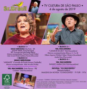Confira as atrações do Sr. Brasil deste domingo. (Imagem: Divulgação)