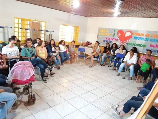 Vídeo ajudou a mobilizara comunidade de Águas de Miranda sobre o mal causado pela violência doméstica. (Foto: Arquivo pessoal)