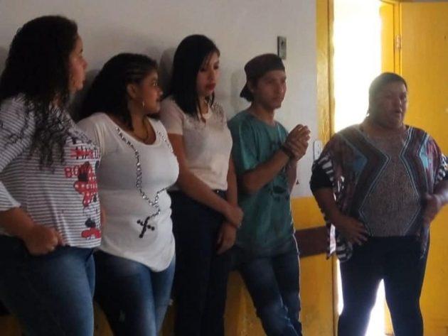 Autores do vídeo veiculado em redes sociais e, agora, na TVE Cultura. (Foto: Arquivo pessoal)
