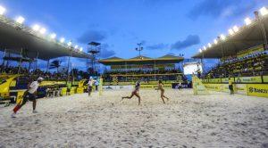 Circuito BB de Vôlei de Praia, um dos vários eventos realizados no parque