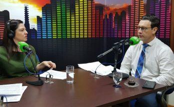 André Salineiro abordou questões de habitação, saúde e transporte durante entrevista ao Bom Dia Campo Grande. (Foto: Pedro Amaral/Fertel)