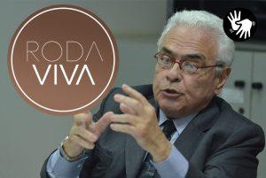 Ex-ministro José Carlos Dias estará no centro do Roda Viva. (Foto: Divulgação)