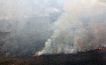 Incêndio em região do Pantanal; Governo de MS determinou criação de Sala de Situação Integrada para planejar ações contra queimadas. (Foto: Subcom/Arquivo)