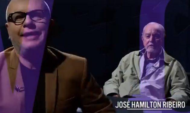 Marcelo Tas entrevista José Hamilton Ribeiro em edição do #Provocações desta terça-feira (24). (Imagem: Reprodução)