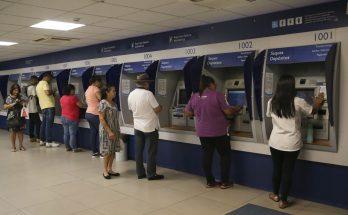 Agências da Caixa liberaram equipamentos para Saque Imediato do FGTS. (Foto: José Cruz/Agência Brasil/Arquivo)