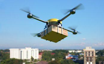 Uso de drones para entregas, já discutido em diferentes locais do mundo, começa a ser testado no Brasil. (Foto: Pymnts.com/Reprodução)