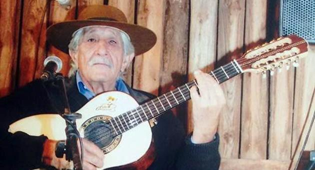 Cantor e compositor foi um dos principais nomes da música sertaneja de Mato Grosso do Sul. (Foto: Arquivo pessoal/Reprodução)