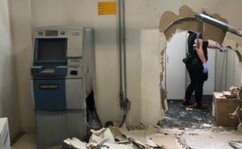 Bandidos invadiram emissora para roubar caixas eletrônicos. (Foto: PCSP/Divulgação)