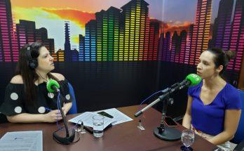Procuradora do Trabalho, Cândice Arósio (à direita) destacou no Bom Dia Campo Grande a importância do aprendizado profissional para adolescentes e jovens. (Foto: Iasmin Biolo/Fertel)
