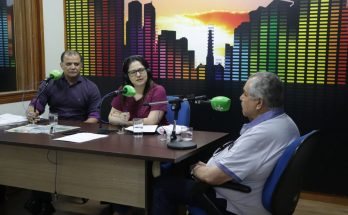 Spínola (à esquerda) e Roberto Bastos (à direita) falaram ao Bom Dia Campo Grande sobre o papel da Seleta e a importância da Festa da Solidariedade. (Foto: Pedro Amaral/Fertel)