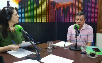 Paulino Jr. detalhou na Educativa 104.7 FM exigências para candidatos a professor da pós-graduação em Gestão de Pessoas da Escolagov. (Foto: Pedro Amaral/Fertel)