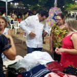 Comerciantes comemoraram vendas durante o evento; Ao Po'i foi um dos produtos mais vendidos