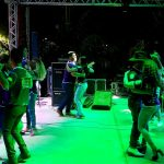 Músicos e dançarinos encantaram durante apresentações. (Foto: Pedro Amaral/Fertel)