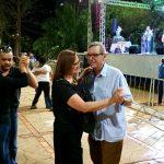 Público caiu na dança ao som do chamamé. (Foto: Pedro Amaral/Fertel)