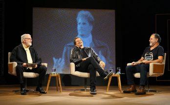 Celulari (ao centro) será o entrevistado do Persona em Foco desta sexta-feira. (Foto: Divulgação)