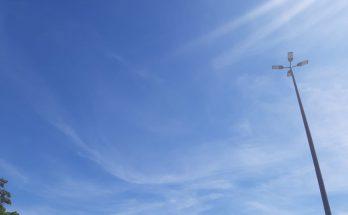 Campo Grande teve uma terça-feira de céu com poucas nuvens; cenário deve se repetir hoje. (Foto: Humberto Marques)