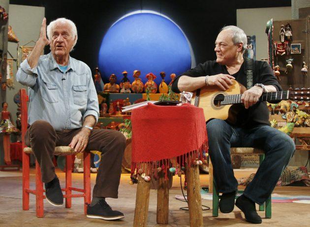Boldrin e Toquinho. (Foto: Divulgação)