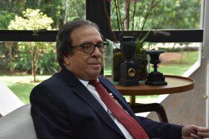 Conselheiro Iran Coelho das Neves é o presidente do TCE-MS. (Foto: Mary Vasques/Divulgação)