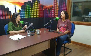 Professora da UFMS, Alessandra Gutierrez (à direita) falou ao Bom Dia Campo Grande sobre debates no Diern-2019, que foca doenças infecciosas que retornam ou são negligenciadas. (Foto: Pedro Amaral/Fertel)