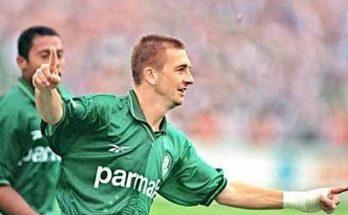 Galeano foi ídolo no Palmeiras, onde atuou por 474 partidas e conquistou a Libertadores de 1999. (Foto: TV Cultura/Reprodução)